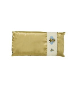 Honey Bee Gold Silk Eye Pillow by Jane Inc.