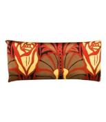 Jane Inc Silk Eye Pillow - Lavender Filled - Nouveau Red & Black