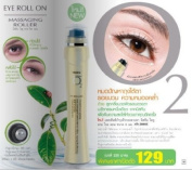 Mistine O2 Eye Roll on Massaging Roller Anti-puffiness Anti-ageing & Brightening