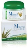 Mineral Line - Aloe Vera, Anti-Wrinkle Eye Cream, 30 ml / 1 oz