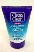 Clean & Clear Deep Action Cream Cleanser, 30ml