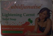 L'abidjanaise Lightening Carrot Toilet Soap 225g.