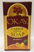 OKAY Carrot Complexion Soap with Vitamin E, 100ml