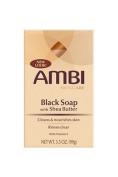 Ambi Skincare Black Soap with Shea Butter 100g