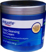 Deep Cleansing Skin Cream by Equate 350ml. Noxzema Original Deep Cleansing Cream