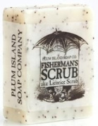 Plum Island Soap - Fisherman Scrub , All Natural Handmade Soap