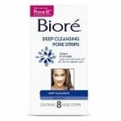 BIORE DEEP CLEAN PORE STRIP 8 EACH