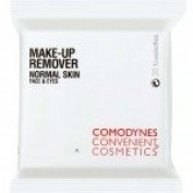 Comodynes Make-Up Remover Normal Skin Face & Eyes 20 Towelettes