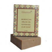 ELMA & SANA® Argan Oil Ghassoul clay Soap-4.5oz/127gr