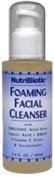 Nutribiotic - Foaming Facial Cleanser, 120ml liquid