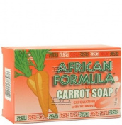 African Formula Carrot Soap with Vitamin a 210ml