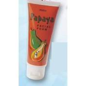 Papaya Facial Foam 80g.- Product of Thailand
