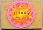 SpaBody Organic Pink Grapefruit & Shea Butter Purifying Facial Bar - 100ml - Bar