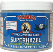 Thayers Medicated Superhazel with Aloe Vera Astringent Pads