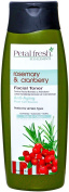 Petal Fresh Organic Eco-Elements Facial Toner, Rosemary and Cranberry, 210ml
