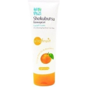 Shokubutsu Monogatari Whitening Facial Face Foam Moisturiser Cleanser Orange