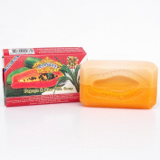 Asantee Thai Papaya & Rice Milk Skin Whitening Soap 135g