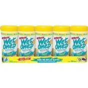 Wet Ones Antibacterial Wipes 48 Count, 5 pk