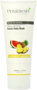 Bio Creative Lab Petal Fresh Botanicals Whitening and Facial Daily Wash All Skin, Watermelon and Pineapple, 7 Fluid Ounce