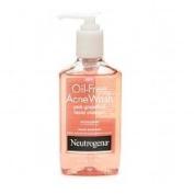 Neutrogena Oil-Free Acne Wash Pink Grapefruit Facial Cleanser 180ml