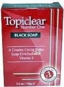 Topiclear Number One Black Soap - 100ml