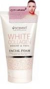 Scentio White Collagen Mild Facail Form 100g.