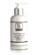 Be Natural Organics Deep Cleansing Oil Treatment and Eye Makeup Remover 6 Oz