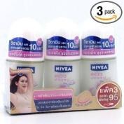 Nivea Extra Whitening Pore Minimizer Deodorant Roll-On Travel Size 25ml