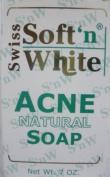 Swiss Soft N White Acne Natural Soap 210ml