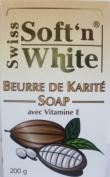 Swiss Soft N White Shea Butter Soap 200G
