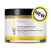 suki body exfoliate foaming body cleanser