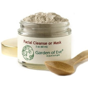 Garden of Eve Facial Cleanse or Mask (Exfoliant) Unscented, Fragrance Free (Anti-ageing / Combination / Normal/ Sensitive) (Certified Organic Ingredients) 60ml