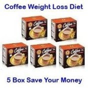 Naturegift Plus Slimming Coffee Weight Loss Diet Fast for Women Best Nutrition Healthy Instant 10 Grammes X 10 Sachets X 5 Box