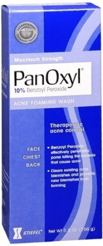 Special pack of 5 PanOxyl ACNE FOAMING WASH 160ml. Free