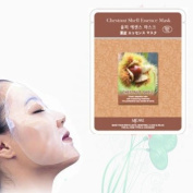 Natural Beauty Chestnut Shell Essence Full Face Mask 10 Pcs