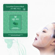 Natural Beauty Cucumber Essence Full Face Mask 10 Pcs