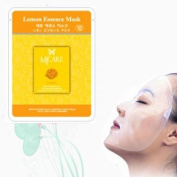 Natural Beauty Lemon Essence Full Face Mask 10 Pcs