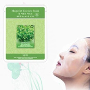Natural Beauty Mugwort Essence Full Face Mask 10 Pcs