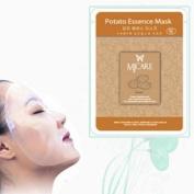 Natural Beauty Potato Essence Full Face Mask 10 Pcs