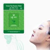 Natural Beauty Green Tea Essence Full Face Mask 10 Pcs