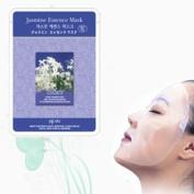 Natural Beauty Jasmine Essence Full Face Mask 10 Pcs