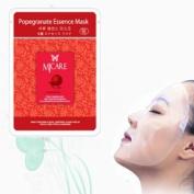 Natural Beauty Pomegranate Essence Full Face Mask 10 Pcs