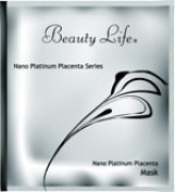 Nano Platinum Placenta Facial Mask Sheet