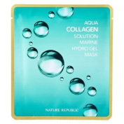 Nature Republic Aqua Collagen Solution Marine Hydro Gel Mask x 2 sheet