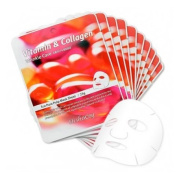Elishacoy Vitamin & Collagen Eco Pure Pulp Mask Sheet (Wringkle Care) 23g *10pcs