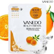 Vanedo Beauty Friends Sheet Mask from Korea - Vitamin