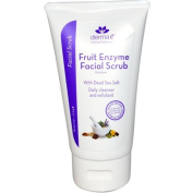 Derma E Exfoliating Scrub Fruit Enzymes and Dead Sea Salt Exfoliant, 120ml