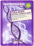 Collagen Mask, NEW 3D Shape Natural Pulp Essence. 4 Masks. Use with your Derma Roller
