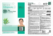 Dermal Korea Collagen Essence Facial Mask Sheet - Green Tea