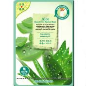 Beauu Green 3D Shape Facial Mask Sheet Pack - Aloe
